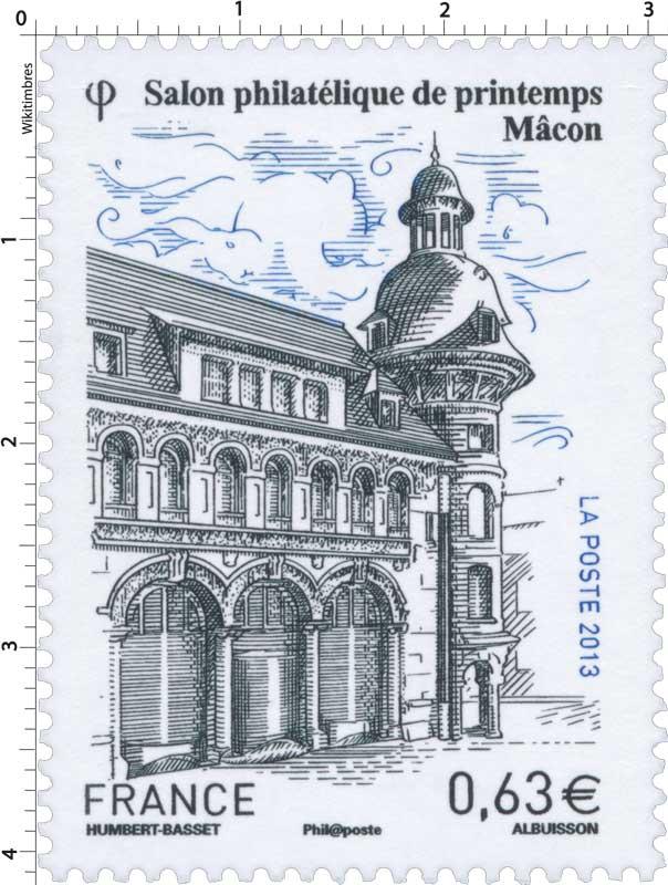 2013 Salon philatélique de printemps Mâcon