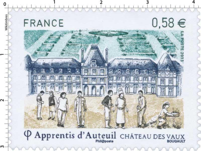 Apprentis d'Auteuil château des Vaux