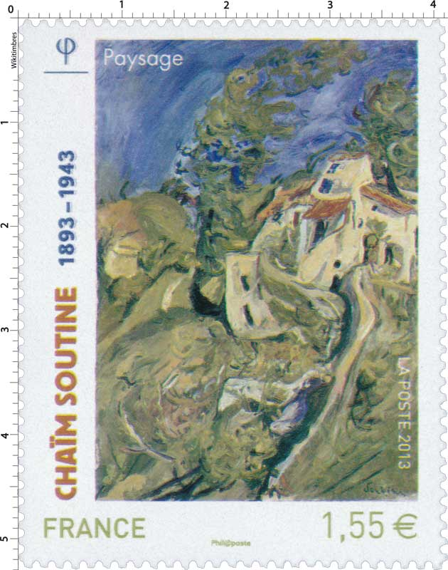 Chaïm Soutine 1893 - 1943 paysage