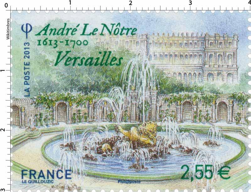 2013 André le Nôtre 1613 -1700 Versailles
