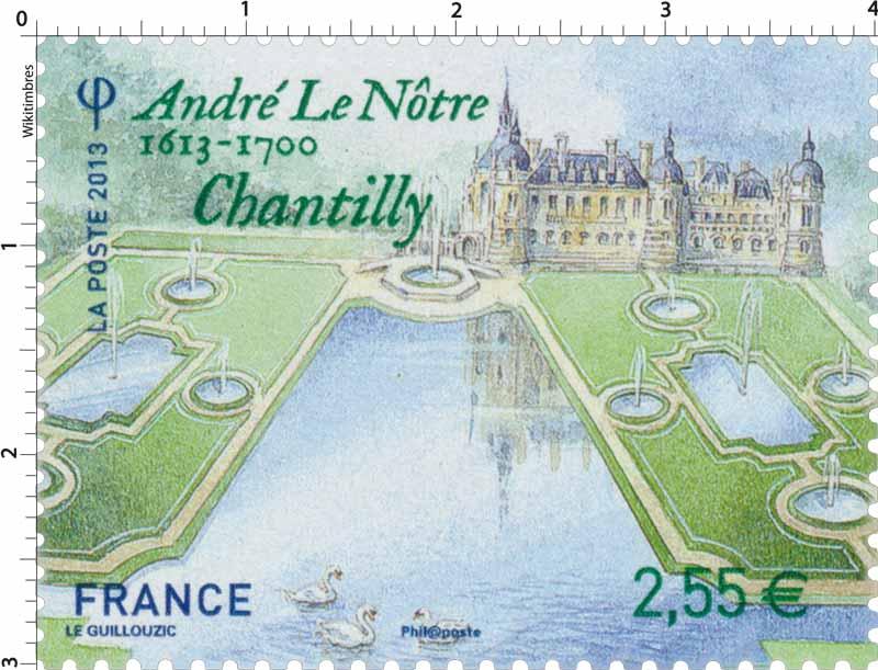 2013 André le Nôtre 1613 - 1700 Chantilly
