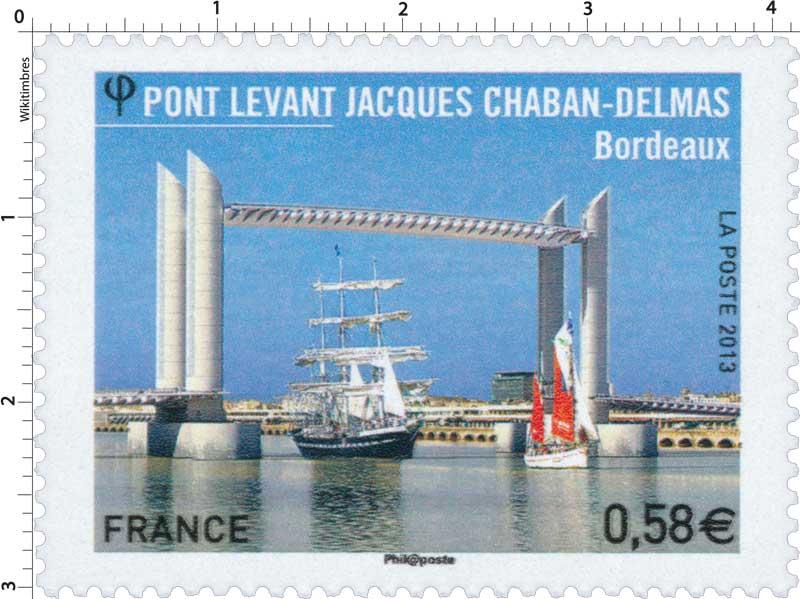 2013 Pont levant Jacques Chaban-Delmas Bordeaux