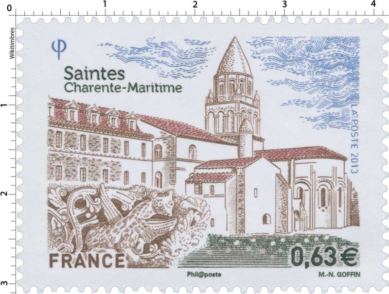 2013 Saintes Charente-Maritime
