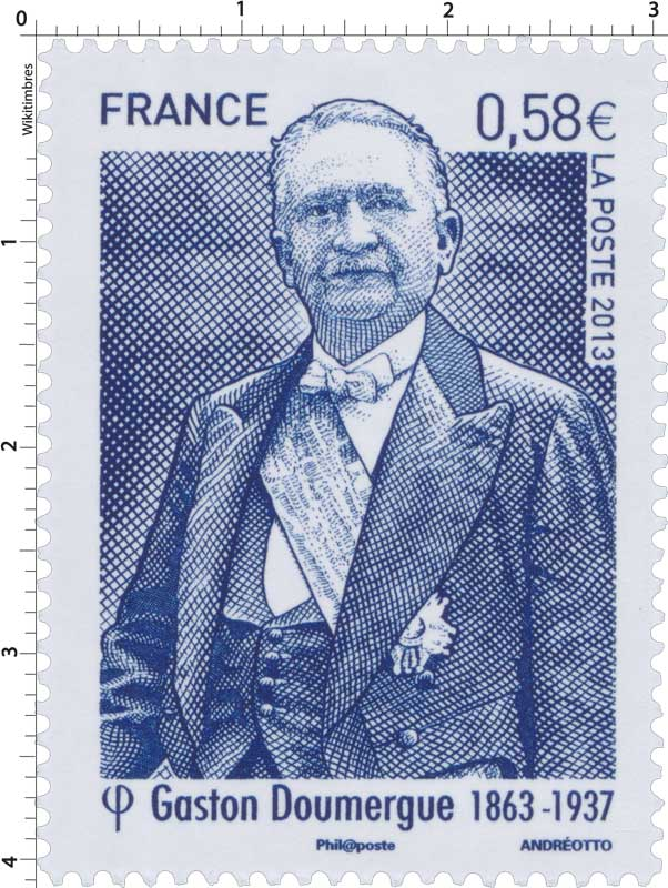 2013 Gaston Doumergue 1863-1937