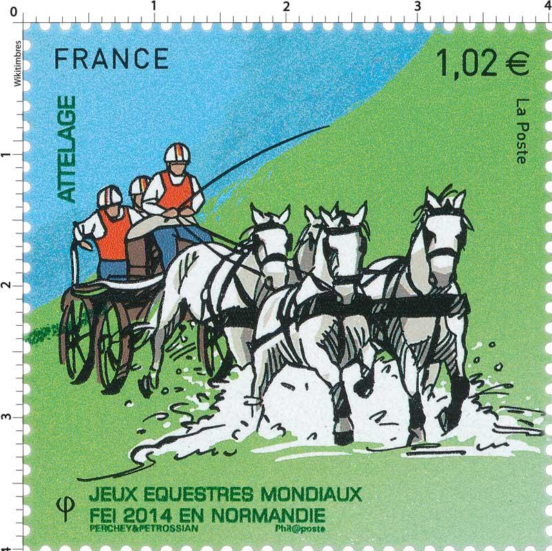 2014 Jeux Équestres Mondiaux FEI en Normandie ATTELAGE