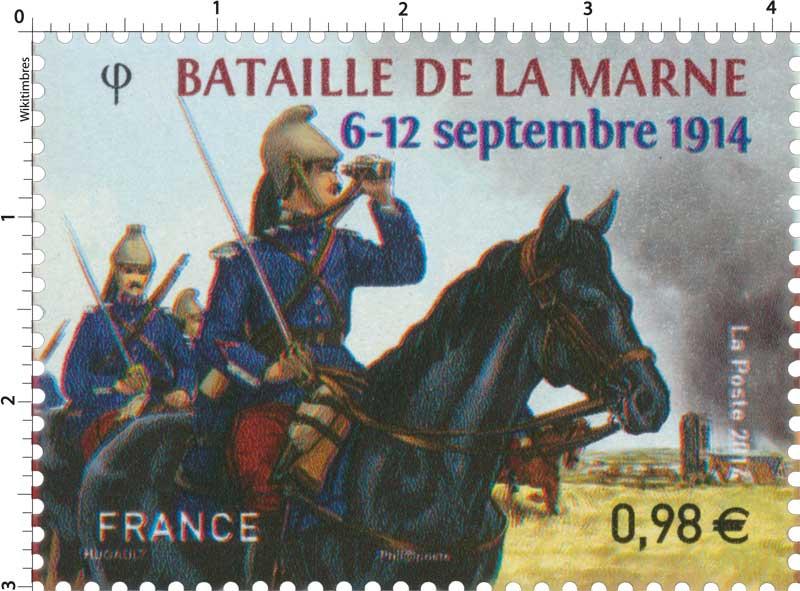 2014 BATAILLE DE LA MARNE 6-12 septembre 1914