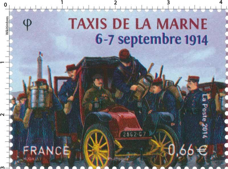 2014 TAXIS DE LA MARNE 6-12 septembre 1914