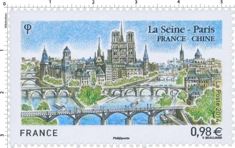 2014 La Seine – Paris  France - Chine