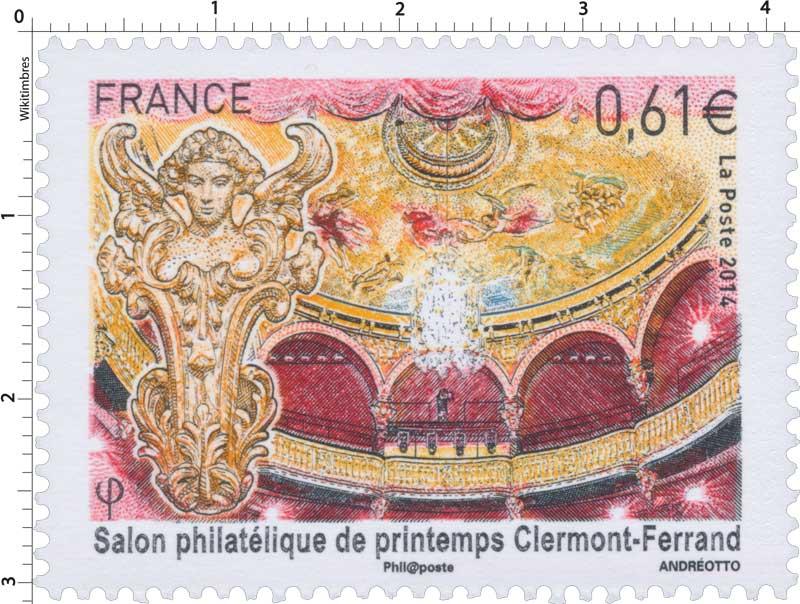 2014 Salon philatélique de printemps Clermont-Ferrand