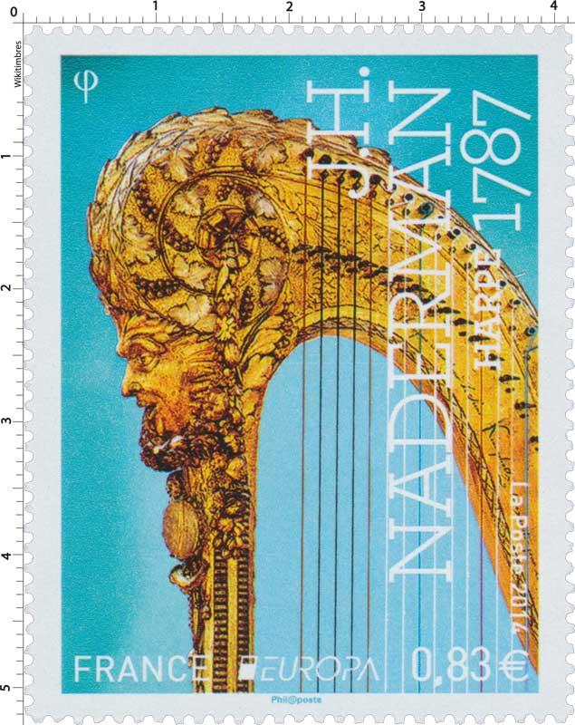 2014 Europa J.H. Naderman - Harpe 1787