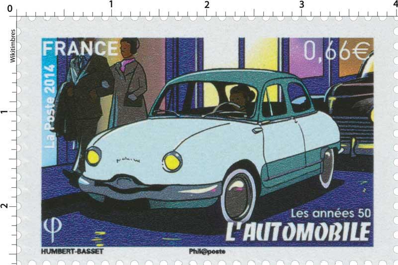 2014 les années 50 - l'automobile