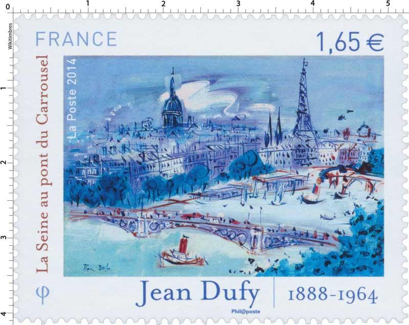 2014 Jean Dufy - 1888 - 1964 La Seine au pont du Carrousel