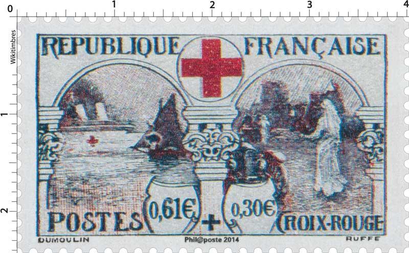 2014 150 ans de la Croix-Rouge française