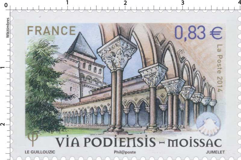 2014 Via Podiensis - Moissac