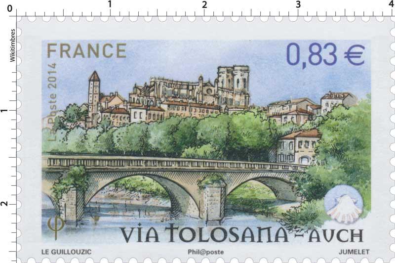 2014 Via Tolosana - Auch