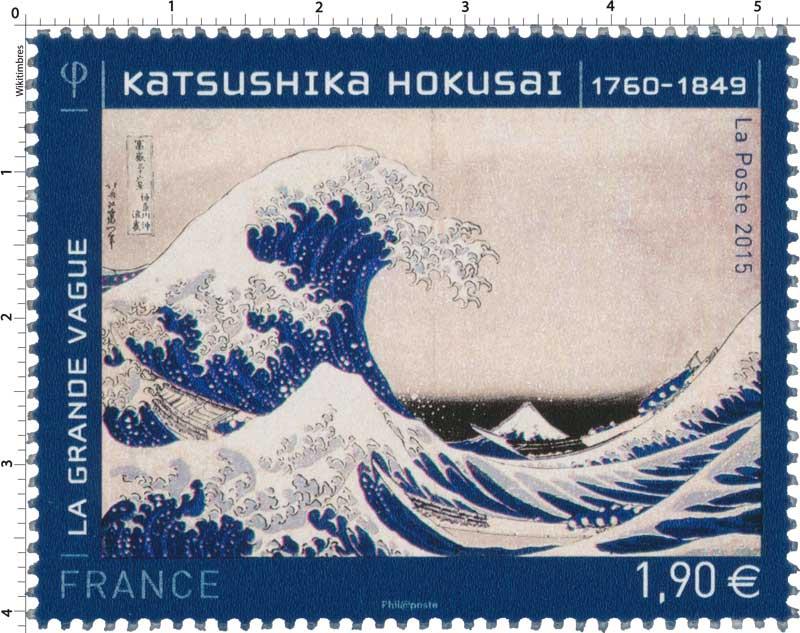 2015 Katsushika Hokusaï 1760 - 1849  La grande vague