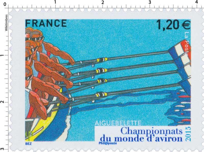 2015  Championnats du monde d'aviron