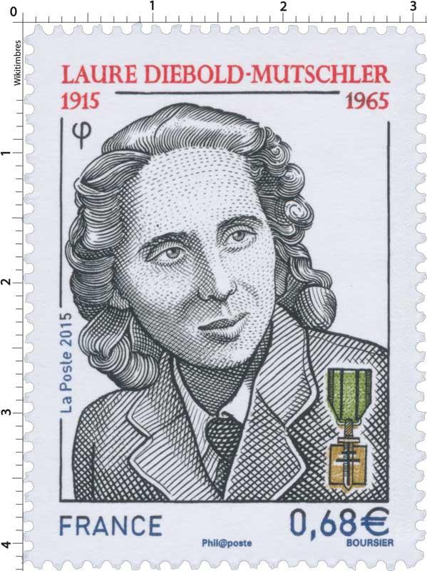 2015 LAURE DIEBOLD-MUTSCHLER 1915-1965