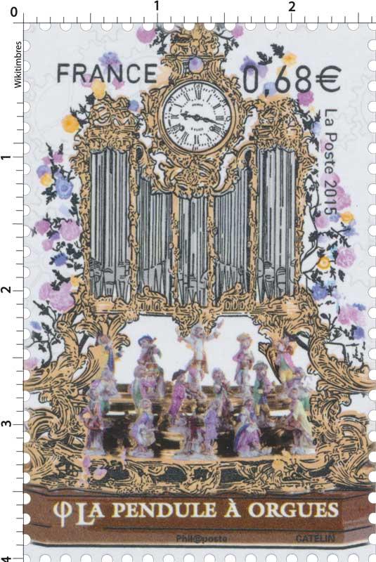 2015 La pendule à orgues