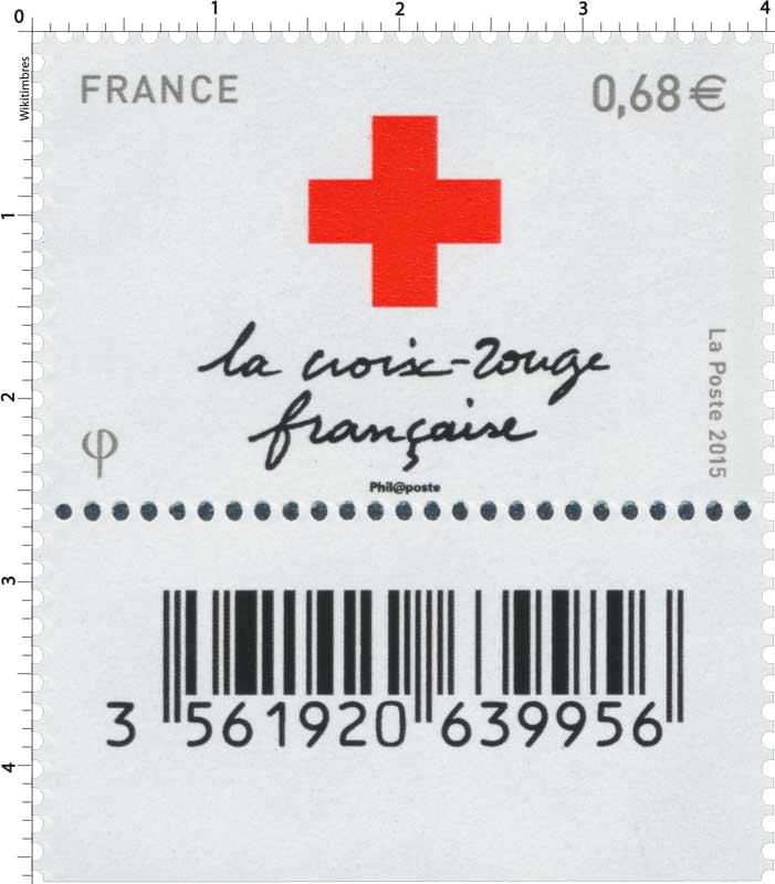 2015 La Croix Rouge française