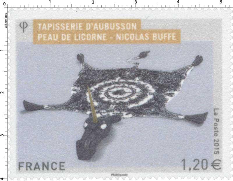 2015 Tapisserie d'Aubusson - Peau de licorne - Nicolas Buffe