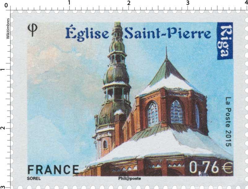 2015 Eglise Saint Pierre - Riga