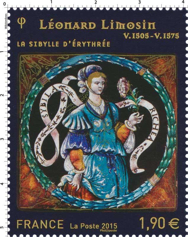 2015 La Sibylle d'Erythrée, Léonard LIMOSIN V.1505-V.1575
