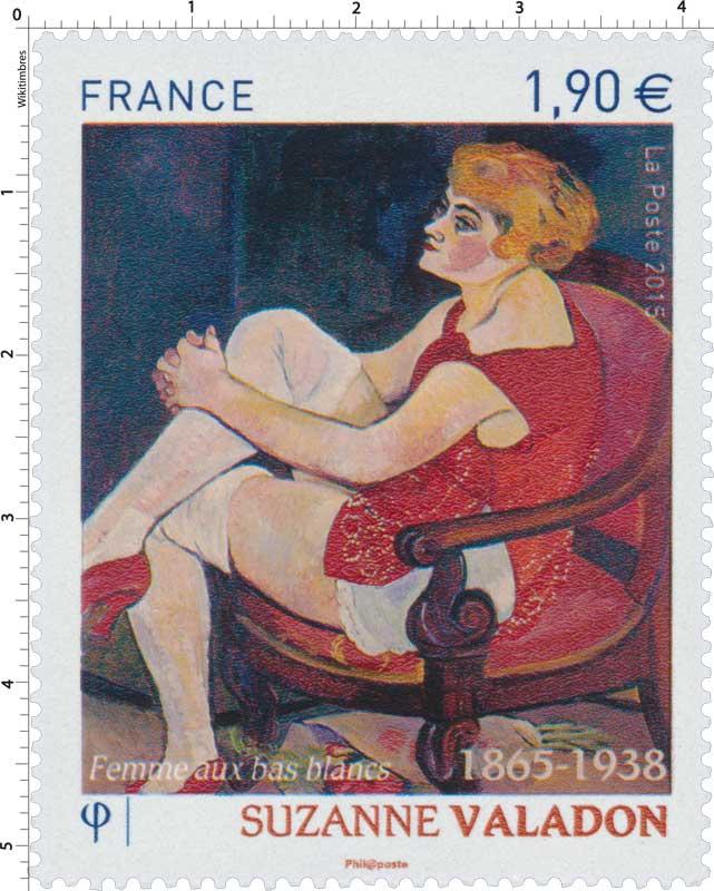 2015 SUZANNE VALADON  1865 -1938  Femme aux bas blancs