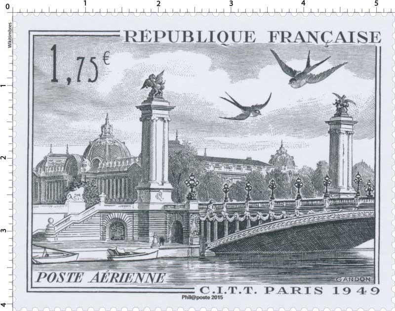 2015 C.I.T.T PARIS 1949