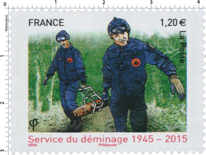 2015 Service du déminage 1945-2015
