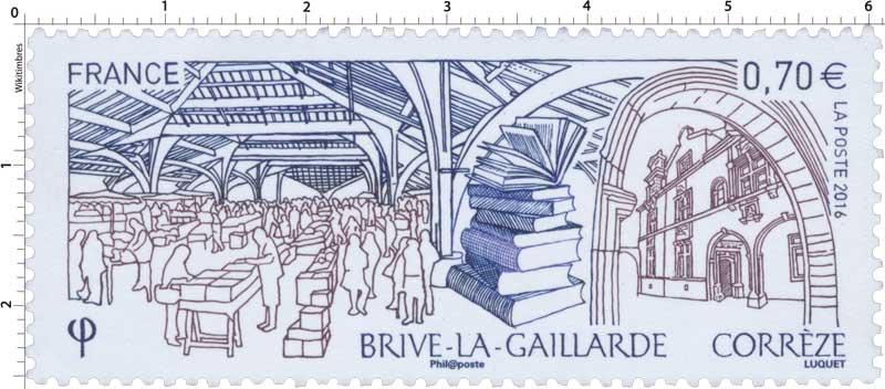 2016 BRIVE-LA-GAILLARDE Corrèze