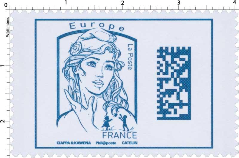 Marianne Europe - Code Datamatrix - 2016