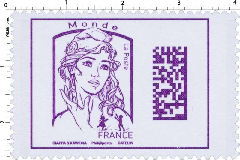 Marianne Monde - Code Datamatrix - 2016