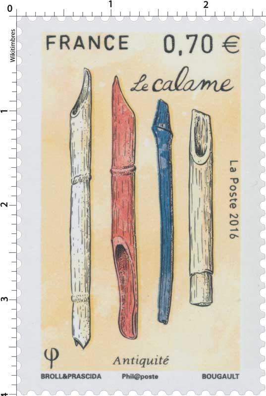 2016 Le calame - Antiquité