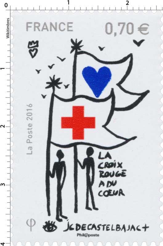 2016  LA CROIX-ROUGE A DU COEUR - JC de CASTELBAJAC