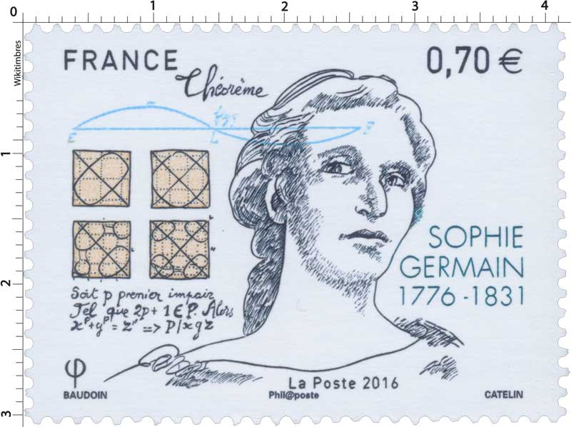 2016 Sophie Germain (1776-1831)