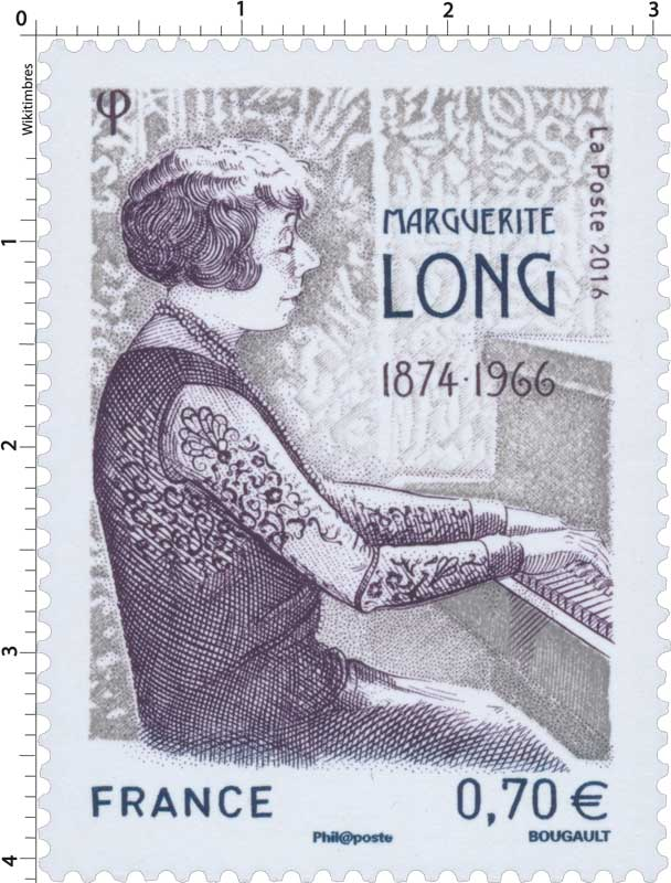 2016 Marguerite Long 1874-1966