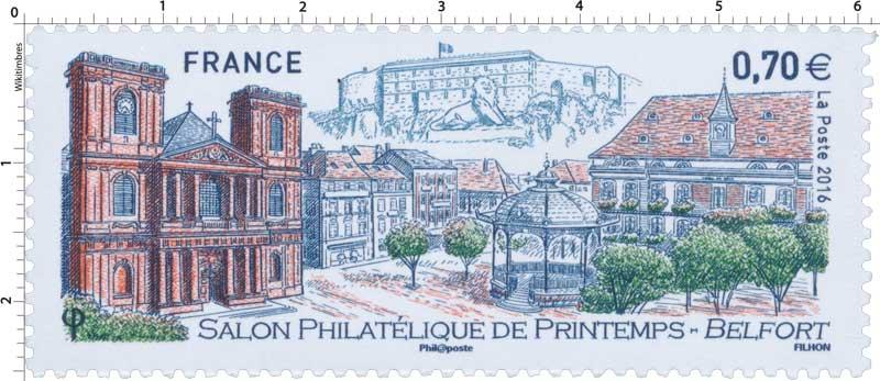 Timbre 2016 salon philat lique de printemps belfort for Salon du timbre 2017