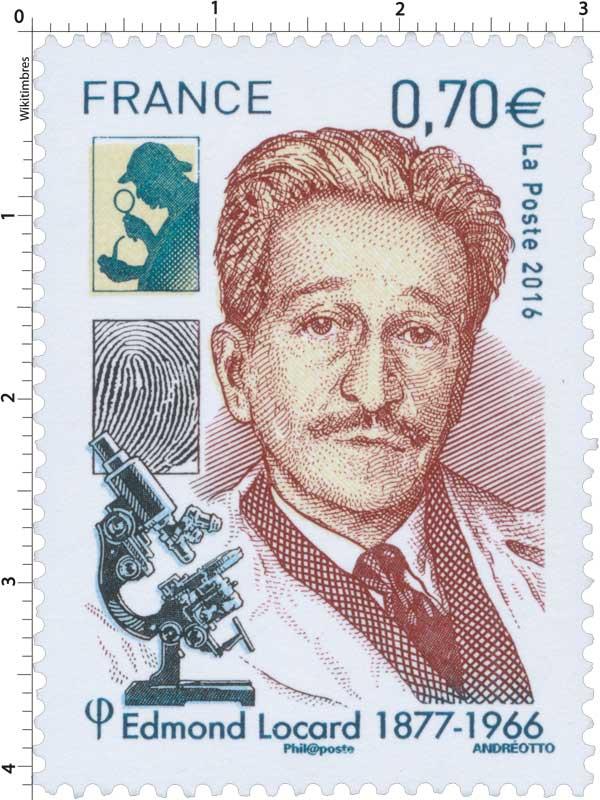 2016 Edmond Locard 1877-1966