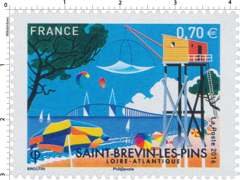 2016 SAINT-BREVIN-LES-PINS LOIRE-ATLANTIQUE
