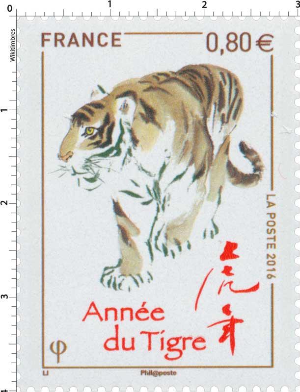 2016 Année du tigre