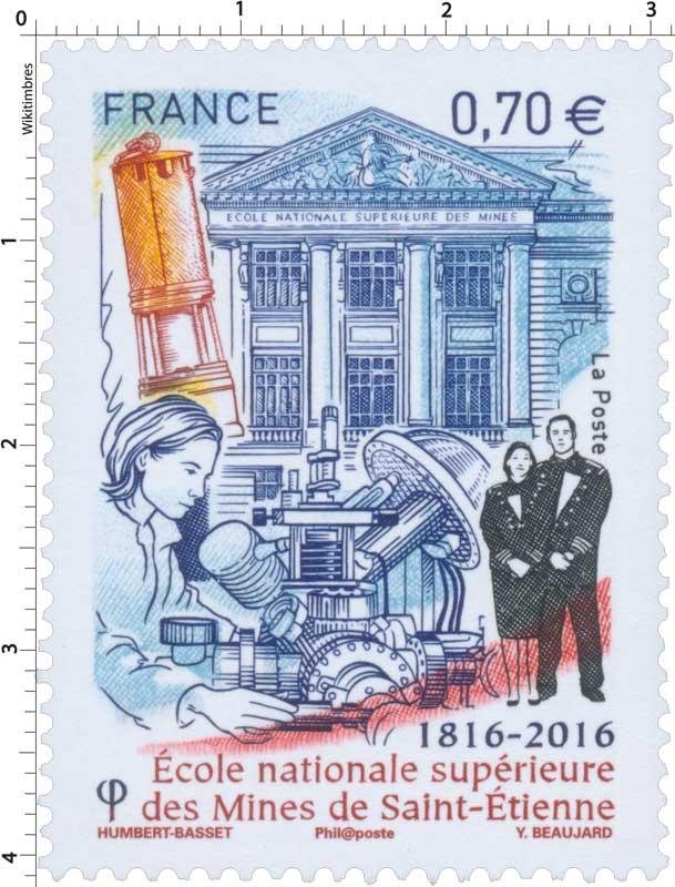 2016 École nationale supérieure des Mines de Saint-Étienne 1816-2016