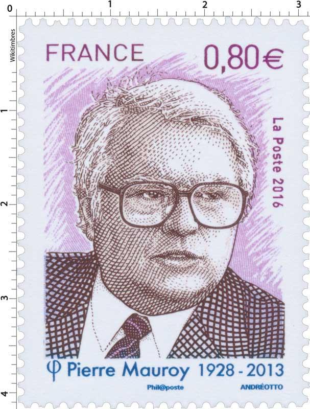 2016 Pierre Mauroy 1928 - 2013