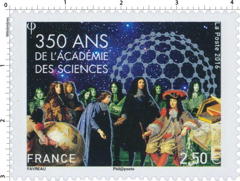 2016 350 ans de l'Académie des Sciences