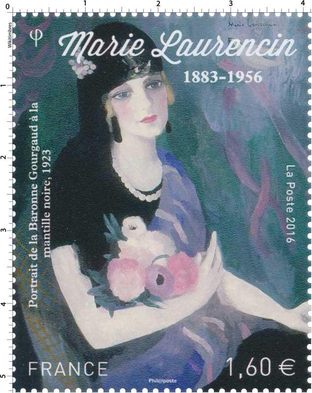 2016 Marie Laurencin 1883 - 1956 - Portrait de la baronne Gourgaud à la mantille noire 1923