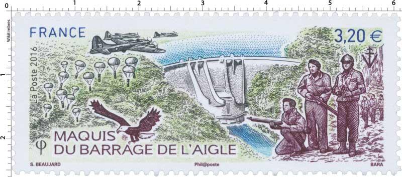 2016 Maquis du barrage de l'Aigle
