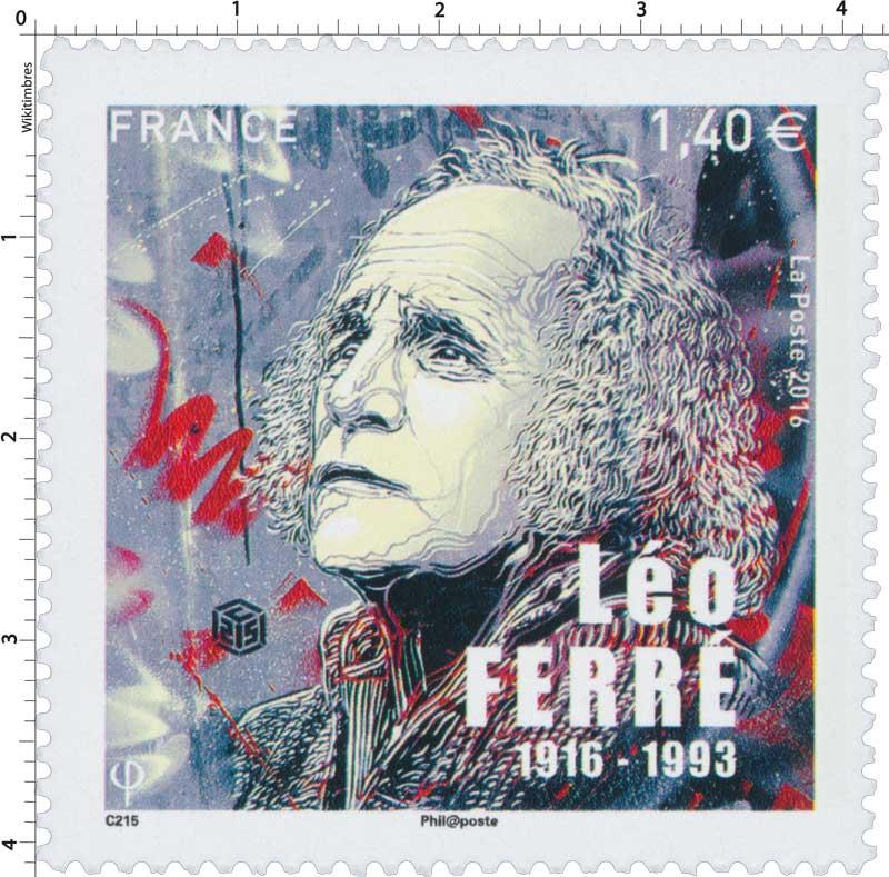 2016 Léo FERRÉ 1916-1993