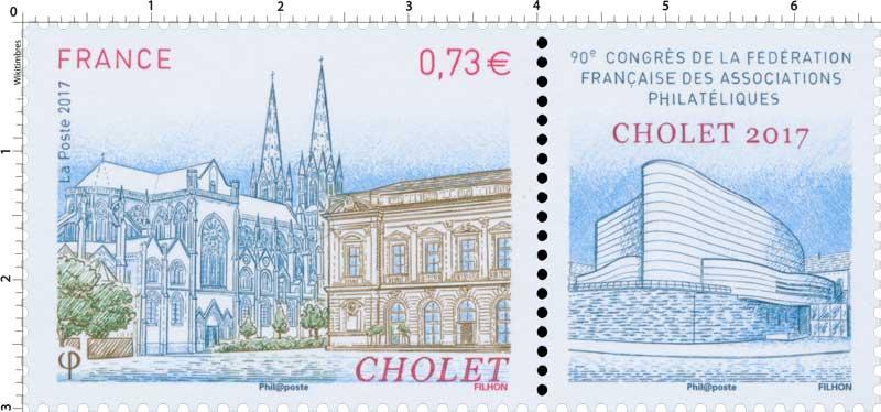 2017 Cholet - 90ème congrès de la Fédération Française des Associations Philatéliques Françaises