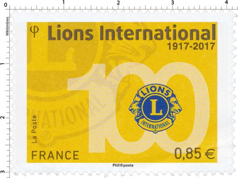 2017 Lions International 1917-2017