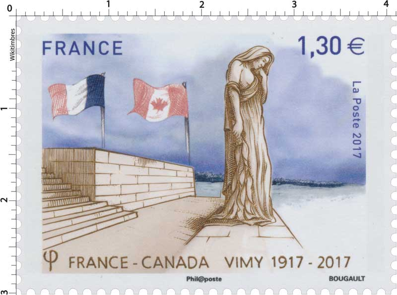 2017  France - Canada -   Vimy 1917 - 2017